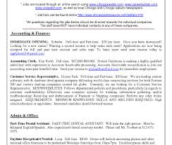 Craigslist Resume Resume Work Template
