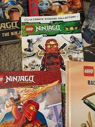 My Ninjago book collection!: Ninjago