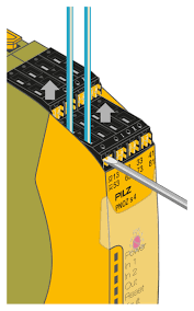 safety relays pilz nz easy to service through simple operation