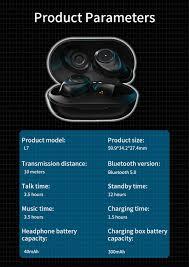 Tai Nghe Bluetooth 5.0 Không Dây Mini Có Hộp Sạc Thích Hợp Cho Các Dòng  Điện Thoại Xiaomi Samsung Oppo - Tai nghe Bluetooth nhét Tai