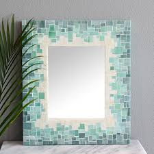 Mosaic Wall Mirrors Beach Style Bathroom Mirrors boston by mosaic