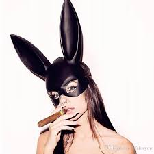 rabbit mask face mask mask masquerade masks bunny girl cosplay masks for party y ball or club bauta mask masquerade masks for