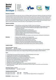 Web Developer Resume Sample Web developer resume is needed when someone want to apply a job as a 46