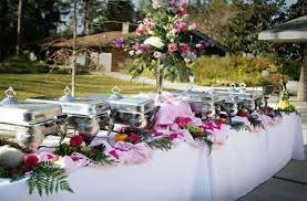 wedding buffet table wedding buffet