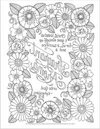 Free Printable Bible Coloring Pages With Scriptures Bible Verses