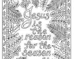 Small Picture Christian Christmas Coloring Page Adult Coloring Books Art