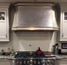 Custom Made Brass And Stainless Range Hood Kitchen Pinterest Custom Kitchen Hoods Atlanta