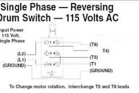 reversing drum switch wiring diagram & drum switch wiring diagram single phase motor with capacitor forward and reverse wiring diagram at Reversing Single Phase Motor Wiring Diagram