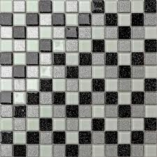 mosaic wall tiles black silver white glitter glass kitchen and uk categories home bathroom p