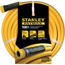100ft garden hose. Stanley FatMax 5/8-in X 100-ft Contractor Kink Free Garden Hose 100ft C