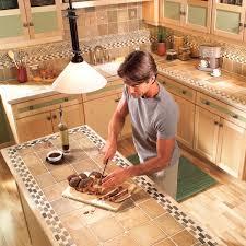 ceramic tile new countertop pros