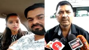 Rajesh Mishra Bjp Mlas Daughter Sakshi Alleges Life Under Threat After Marriage To Dailt Boyfriend Watch Videos From Latestly