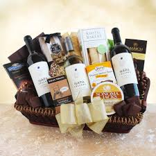 napa cellars gift basket