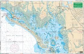 Estero Bay Depth Chart Estero Bay To North Naples Nautical Chart