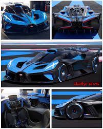 Das leistungsgewicht beträgt 0,67 kg/ps. 2020 Bugatti Bolide Concept Dailyrevs
