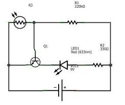 dark sensor light sensor automatic street light 4 steps circuit diagram