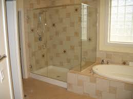 bathroom tiling ideas with bathtub and bathtub tile designs also glass block window with shower tile designs and shower pan plus shower glass doors with