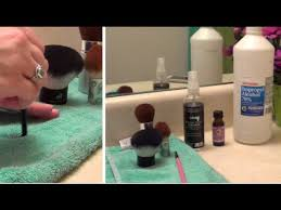 diy makeup brush spot cleaner spray super easy sanitize clean your makeup brushes