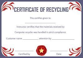 8 Free Customizable Certificate Of Destruction Templates Demplates