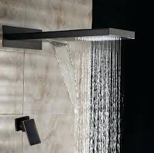 oil rubbed bronze rainfall shower set head bathroom rain faucet kit b18f a oil rubbed bronze rainfall