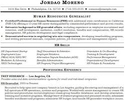 human resources hr resume samples human resource generalist resume example  - Sample Resume Hr Generalist