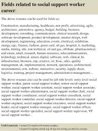 Support Worker Resume Sample Best Of Top 24 Social Support Worker Resume Samples