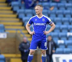 Gillingham captain Kyle Dempsey is enjoying the new challenge