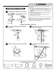 chamberlain garage door manual chamberlain garage door manual release