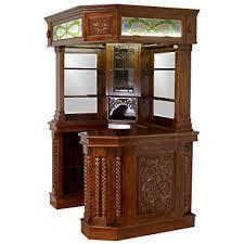 bar corner furniture. Corner Home Bar Furniture Solid Mahogany With Tiffany Glass Canopy Antique  Replica Bar Corner Furniture