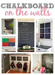 Kitchen Chalkboard Wall Kitchen Chalkboard Wall Ideas