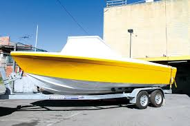 painted haines v19 project boat unpainted haines v19 hull