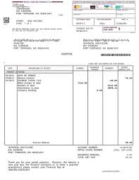 Blank Invoice Template For Microsoft Excel Sample With ...