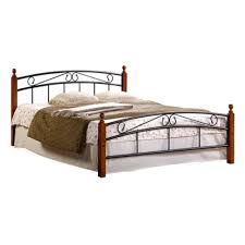 <b>Кровать Tetchair</b> AT-8077, 160х200 см (с основанием) — купить в ...