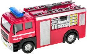 Auto hasiči 12cm se světlem a zvukem, česky mluvící - Jan Benda - Požární  zboží