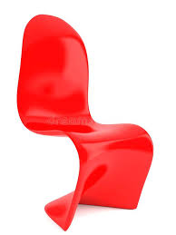 modern plastic chair modern furniture red plastic chair stock ilration ilration modern plastic chairs india