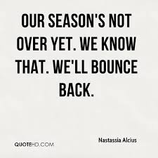 Bounce Back Quotes