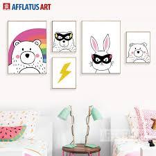 Aliexpress.com : Buy <b>AFFLATUS</b> Modern <b>Animals</b> Canvas Painting ...