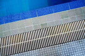 how to clean out your pool deck drain