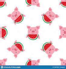 Pig Wallpaper Stock Illustrations – 8 ...