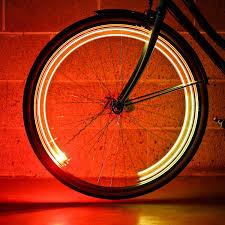 Orange Wheel Lights Amazon Com Monkey Light A15 Automatic Bicycle Wheel Light