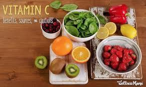 Vitamin C Food Sources Chart Vitamin C Benefits And Cautions Wellness Mama
