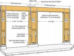 exceptional 2 car garage door size 13 2 car garage door dimensions