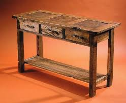 sofa table plans. Image Of: Rustic Console Table Plans Sofa