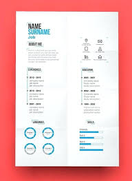 Free Modern Resume Template Color Cv Coloured Templates