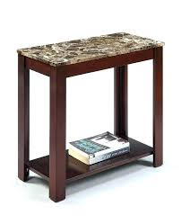 coffee and end tables round table rounded corners oak with