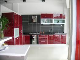 Red And Black Kitchen Cabinets Trendyexaminer Black White Red Kitchen Ideas Ponyiex