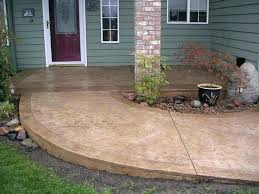 Idea Concrete Patio Cost And Stamped Concrete Patio Cost Cost Of