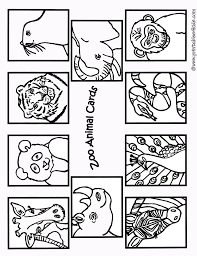 New free coloring pages stay creative at home with our latest. Zoo Animals Coloring Cards1 Printables For Kids Free Word Search Puzzles Coloring Pages And Other Activities
