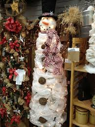 Snowman Christmas Tree A Tomato Cage Tomato Cage With