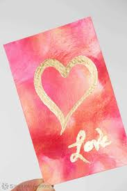 This collection of valentine's day cards was first published in january 2015 and updated for your convenience! Valentine S Day Painting An Easy Art Project With Stunning Results 5 Minutes For Mom